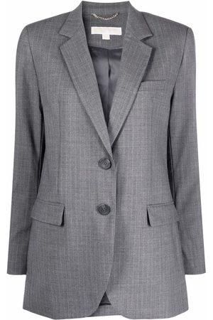 Michael Michael Kors Women Blazers - Single-breasted tailored blazer - Grey