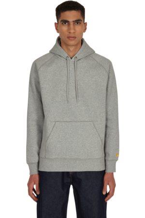 Carhartt Men Sports Hoodies - Chase hooded sweatshirt GREY HEATHER / S