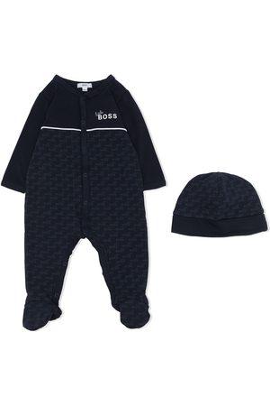 HUGO BOSS Pajamas - Monogram-print pajama set
