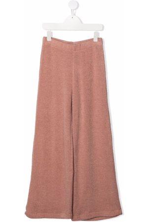 Caffe' D'orzo Wide Leg Pants - TEEN knitted wide-leg trousers