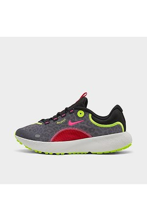 Nike Women's React Escape Run Running Shoes in Animal Print/Grey/Particle Grey Size 6.0