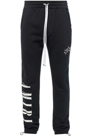 AMIRI Logo-print Jersey Track Pants - Mens