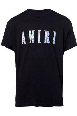 Amiri Paisley Logo-print Jersey T-shirt - Mens