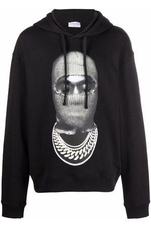 Ih Nom Uh Nit Photograph-print long-sleeved hoodie
