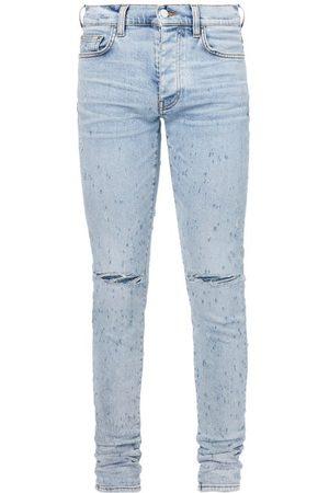 Amiri Men Skinny - Distressed Skinny-leg Jeans - Mens