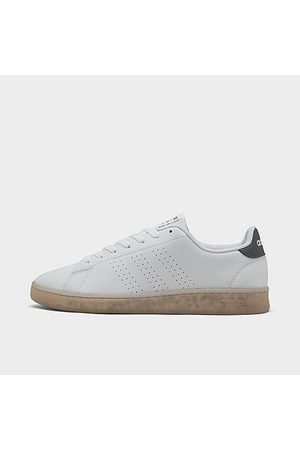 adidas Men Casual Shoes - Men's Essentials Advantage Eco Casual Shoes in /Cloud Size 7.0 Leather/Polyester