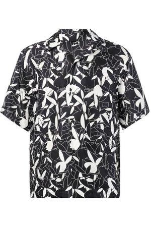 AMIRI X Playboy Bunny-print Short-sleeved Shirt - Mens