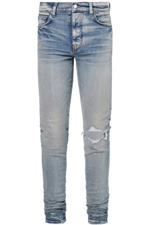 AMIRI Broken Distressed Skinny Jeans - Mens