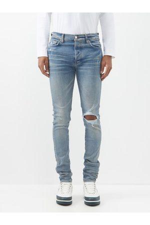AMIRI Men Skinny - Broken Distressed Skinny Jeans - Mens