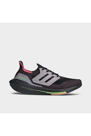 adidas Women Running - Women's UltraBOOST 21 Recycled Primeblue Running Shoes in Grey/Grey Size 5.5 Knit