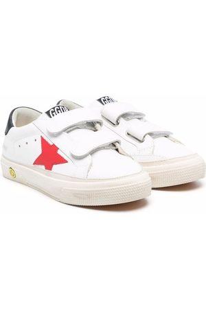 Golden Goose Boys School Shoes - Old School double strap sneakers