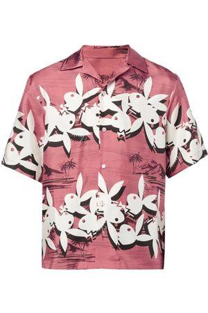 AMIRI Men Shirts - X Playboy Printed Twill Shirt - Mens