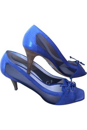 Escada Leather sandals