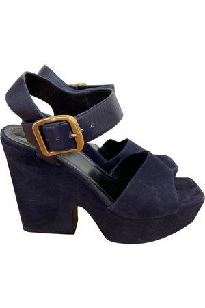 Céline Women Sandals - Velvet sandals