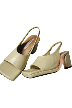 Shop Pêche Women Sandals - Patent leather sandals