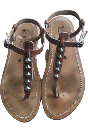 K jacques Picon leather sandal