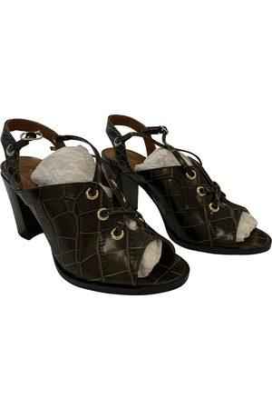 Vanessa Bruno Patent leather sandals