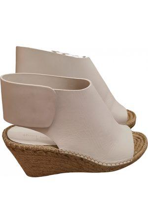 Céline Leather sandal