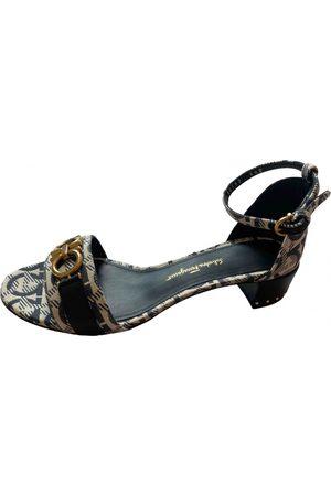Salvatore Ferragamo Cloth sandal