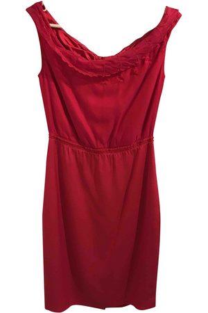 ELIE TAHARI Silk mid-length dress