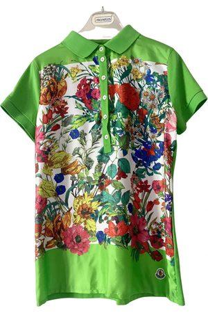 Moncler Women Polo Shirts - Silk polo