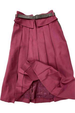 LES COPAINS Wool maxi skirt
