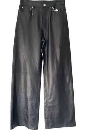 RAG&BONE Leather trousers