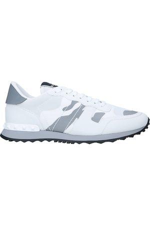 VALENTINO GARAVANI Men Sneakers - Camouflage-print leather low-top trainers