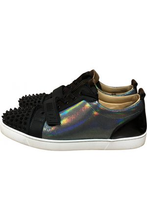 Christian Louboutin Boys Sneakers - Louis junior spike glitter low trainers