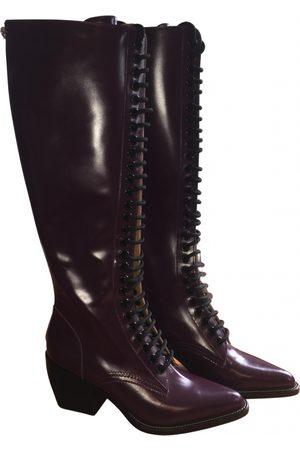 Chloé Rylee leather biker boots