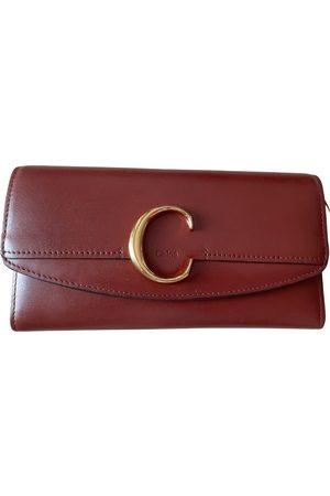 Chloé C leather wallet