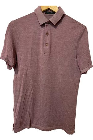 Ermenegildo Zegna Men Polo Shirts - Silk polo shirt