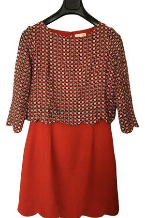 Dolores Promesas Silk mid-length dress