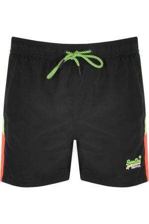 Superdry Beach Volley Swim Shorts Navy