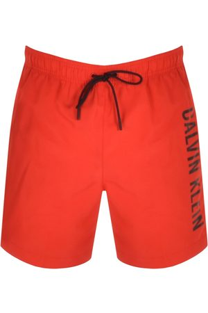 Calvin Klein Logo Swim Shorts