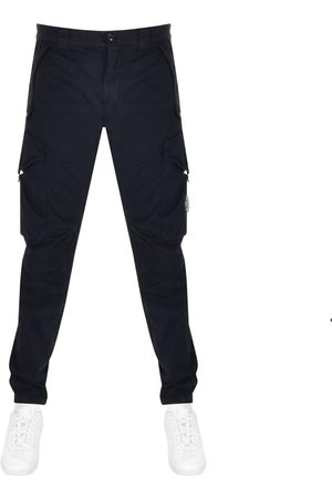 CP Company CP Company Stretch Sateen Cargo Trousers Navy