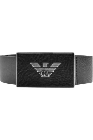 Armani Emporio Logo Leather Belt