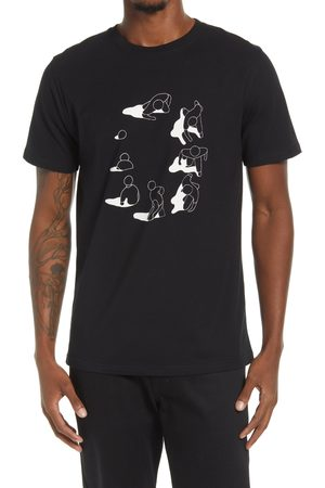 Norse projects Men's Gm X Np Niels Circle Cotton Graphic Tee