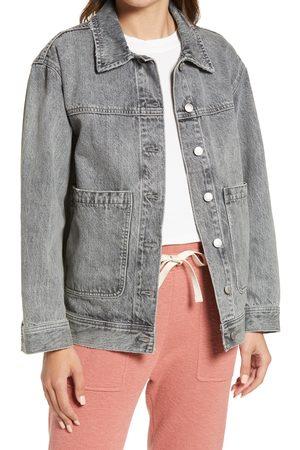 Madewell Women's Denim Patch Pocket Trucker Jacket
