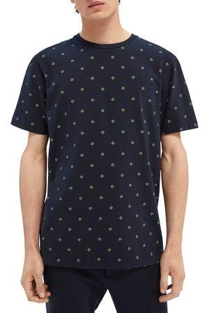 Scotch&Soda Men's Men's Patterned Stretch T-Shirt