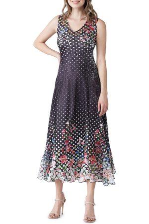 Komarov Women's Lace Back A-Line Gown