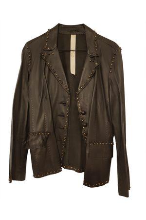 rizal Women Coats - Leather coat
