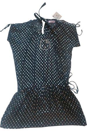 VICTORIA CASAL Silk mini dress