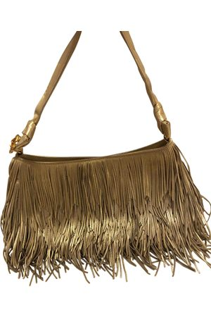 Roberto Cavalli Leather clutch bag