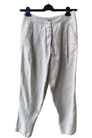 Ixos Women Pants - Linen harem