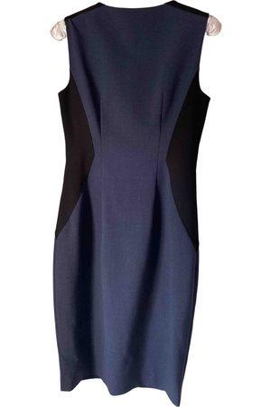 ELIE TAHARI Wool mid-length dress