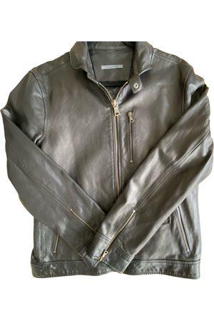John Varvatos Men Leather Jackets - Leather jacket