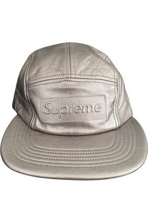 Supreme Leather cap