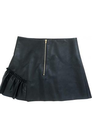 Sandro Fall Winter 2019 leather mini skirt