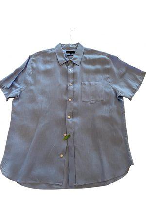 Vince Men Shirts - Linen shirt